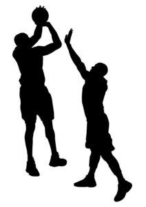 バスケットボール攻防
